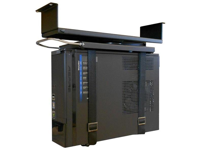 Newstar pc tischhalterung pc d050black schwarz for Schreibtischplatte schwarz